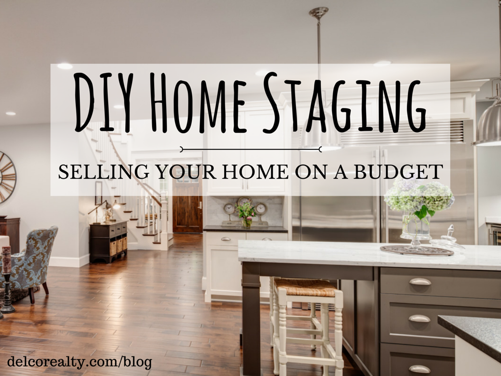 Diy home staging selling your home on a budget for Homes on a budget