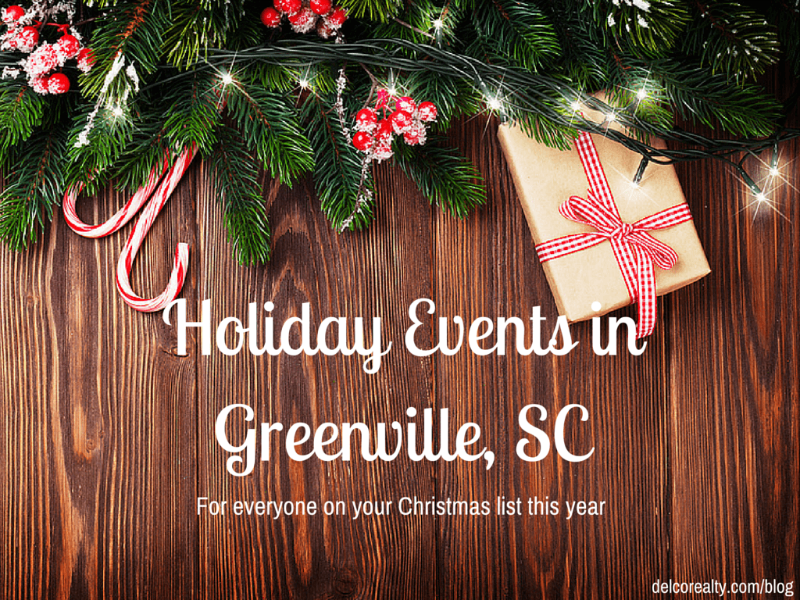 2015 holiday events in greenville, sc